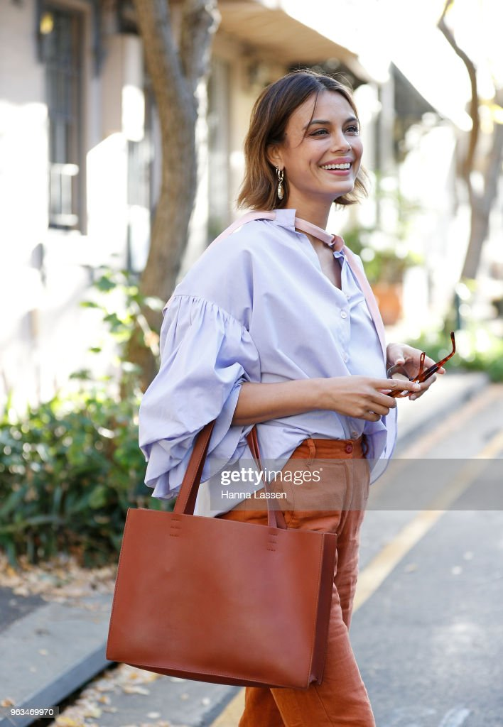 Street Style In Sydney - May 2018 : News Photo