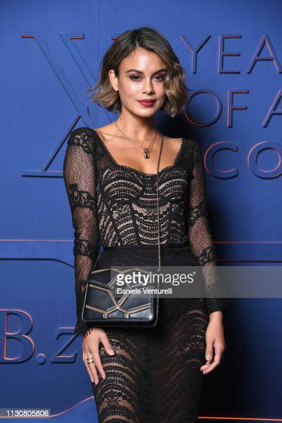 Nathalie Kelly attends the Bvlgari BZERO1 XX Anniversary Global Launch Event at Auditorium Parco Della Musica on February 19 2019 in Rome Italy