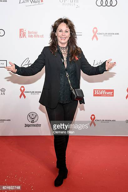 Nathalie Kollo attends the Artists Against Aids Gala at Stage Theater des Westens on November 16 2016 in Berlin Germany