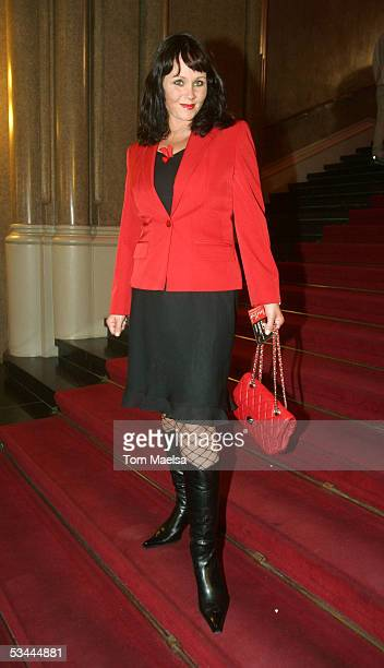 Nathalie Kollo attends the Reminder's Day AIDS Gala at Rotes Rathaus in Berlin on August 20 2005 in Berlin Germany
