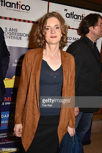 Nathalie Kosciusko Morizet attends Atlantico 5th Anniversary at Cafe Campana in Musee D'Orsay on May 24 2016 in Paris France