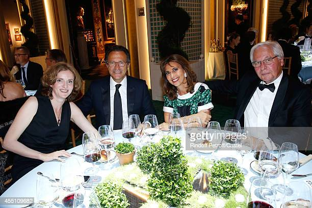 Nathalie KosciuskoMorizet and guest attend the 27th 'Biennale des Antiquaires' Pre Opening at Le Grand Palais on September 9 2014 in Paris France