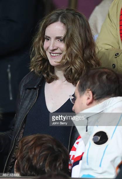 Nathalie KosciuskoMorizet attends the french Ligue 1 match between Paris SaintGermain FC and FC Nantes at the Parc des Princes stadium on January 19...