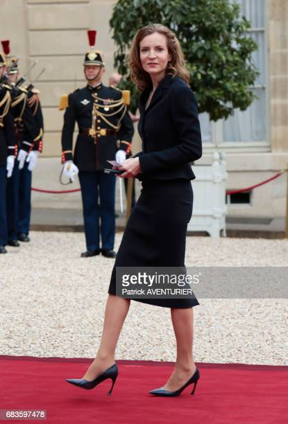 Nathalie KosciuskoMorizet during the elected French president Emmanuel Macron handover ceremony at the Elysée Palace on May 14 2017 in Paris France