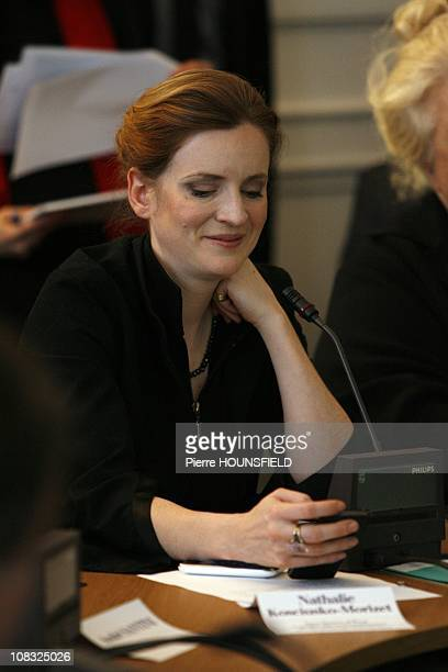 Nathalie Kosciusko-Morizet, French Junior Minister in charge of Forward Planning Assessment of Public Policies and Development of the Digital Economy...