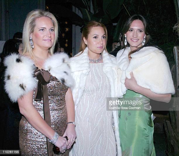 Nathalie Leeds Leventhal Fabiola Beracasa and Zani Gugelmann
