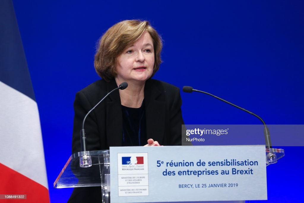 Meeting In Paris About The UK's Exit From The European Union : News Photo