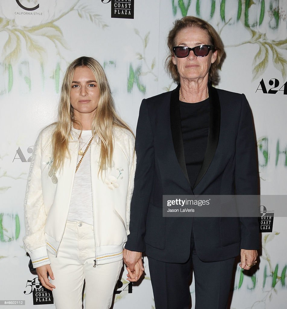 Nathalie Love and Lisa Love attend the premiere of 'Woodshock' at ArcLight Cinemas on September 18, 2017 in Hollywood, California.