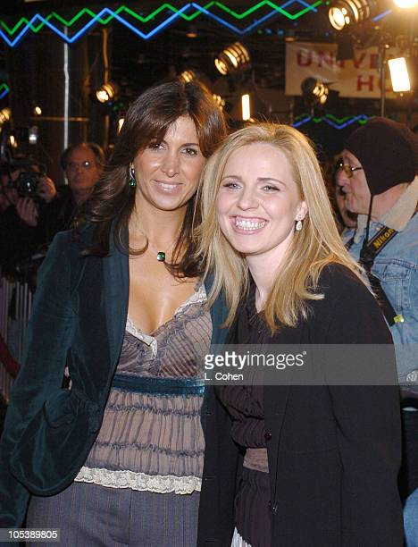 Nathalie Marciano and Michelle Chydzik producers during The Wedding Date Los Angeles Premiere Red Carpet at Universal Studios in Hollywood California...
