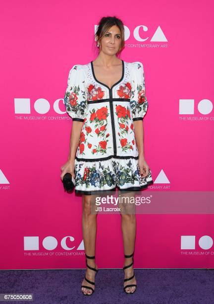 Nathalie Marciano attends the MOCA Gala 2017 on April 29 2017 in Los Angeles California