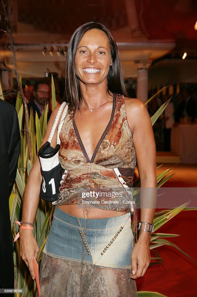 Nathalie Marquay at the 'Cartier Party' at the 31st American Deauville Film Festival.