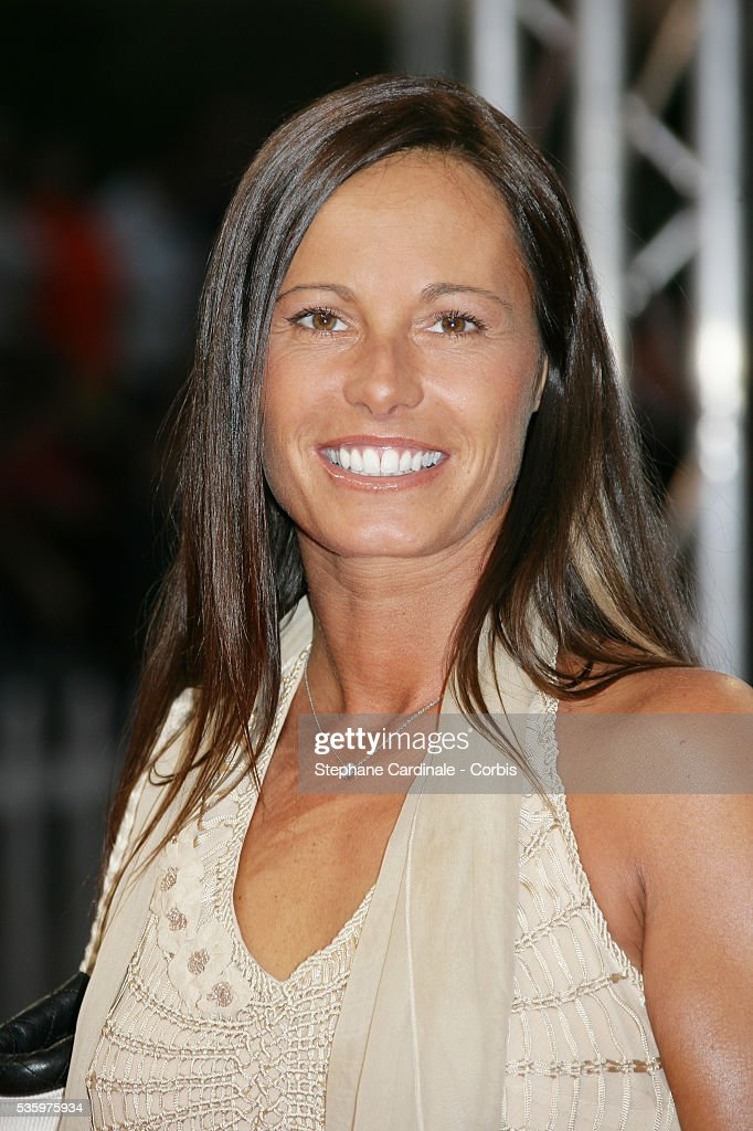 Nathalie Marquay at the opening ceremony of the 31st American Deauville Film Festival.