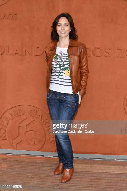 Nathalie Pechalat attends the 2019 French Tennis Open - Day Thirteen at Roland Garros on June 07, 2019 in Paris, France.