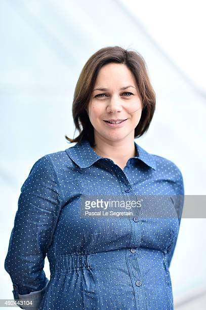 Nathalie Pechalat attends the 26 th edition of Sportel Monaco at Grimaldi Forum on October 13 2015 in MonteCarlo Monaco