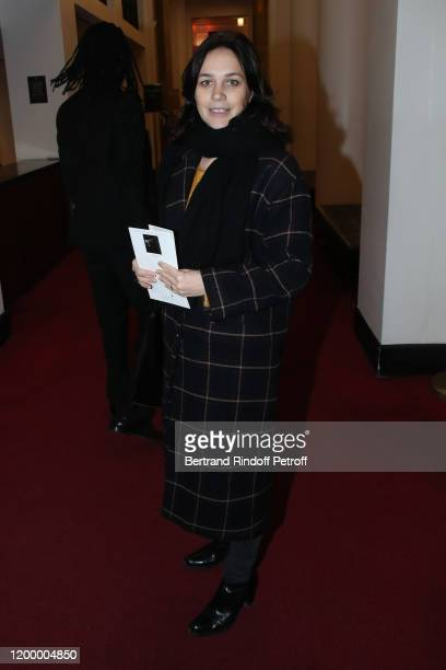 Nathalie Pechalat attends the Exceptional performance of Dream Compagnie Julien Lestel at Salle Pleyel on January 16 2020 in Paris France