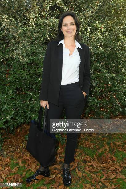 Nathalie Pechalat attends the Lacoste Womenswear Spring/Summer 2020 show as part of Paris Fashion Week on October 01, 2019 in Paris, France.