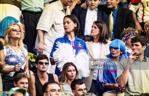 Nathalie PIRES, wife of Robert PIRES during the European Championship Final match between France and Italy at Feyenoord Stadium, Rotterdam,...