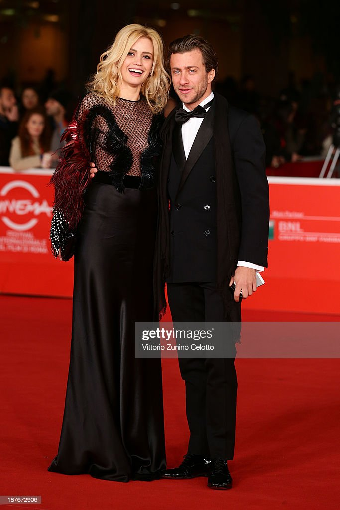 Nathalie Rapti Gomez and Francesco Carrozzini attend 'Romeo And Juliet' Premiere during The 8th Rome Film Festival at Auditorium Parco Della Musica on November 11, 2013 in Rome, Italy.