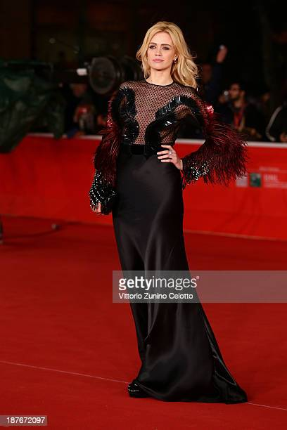 Nathalie Rapti Gomez attends 'Romeo And Juliet' Premiere during The 8th Rome Film Festival at Auditorium Parco Della Musica on November 11 2013 in...