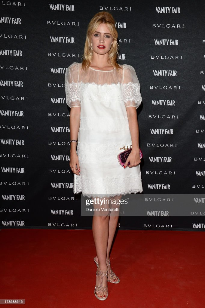 Nathalie Rapti Gomez attends the 'La Dolce Diva' Opening Exhbition during The 70th Venice International Film Festival at Granai dell'Hotel Cipriani on August 30, 2013 in Venice, Italy.