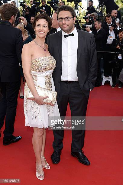 Nathalie Renoux and attend the Premiere of 'Blood Ties' during the 66th Annual Cannes Film Festival at the Palais des Festivals on May 20 2013 in...