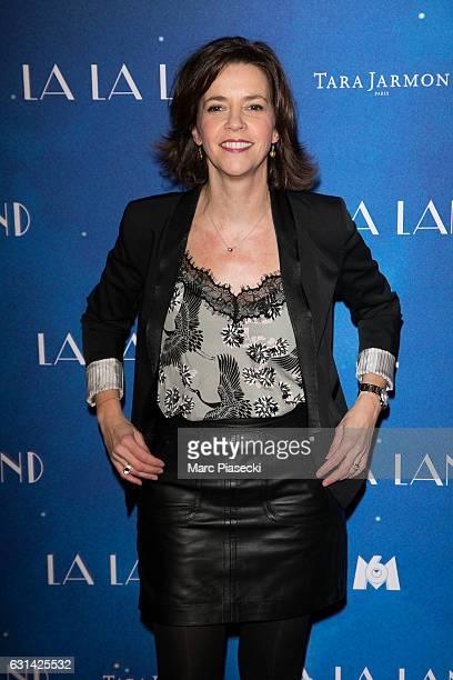 Nathalie Renoux attends 'LA LA LAND' Premiere at Cinema UGC Normandie on January 10 2017 in Paris France