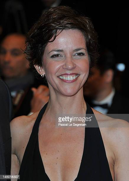 Nathalie Renoux attends 'The Angels' Share' Premiere during 65th Annual Cannes Film Festival at Palais des Festivals on May 22 2012 in Cannes France