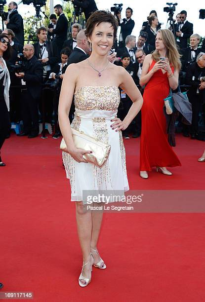 Nathalie Renoux attends the 'Blood Ties' Premiere during the 66th Annual Cannes Film Festival at the Palais des Festivals on May 20 2013 in Cannes...