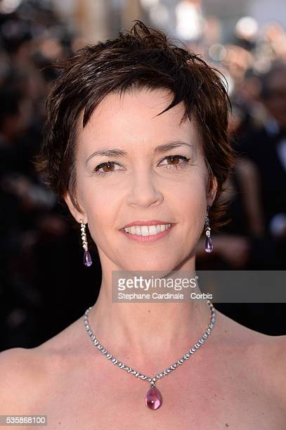 Nathalie Renoux attends the 'Blood Ties' premiere during the 66th Cannes International Film Festival