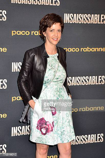 Nathalie Renoux attends the 'Drive In Intense' Perfume I million by Paco Rabanne Launch Party and Premiere of 'Insaisissables' at the Grand Palais on...