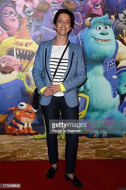 Nathalie Renoux attends the Paris premiere of 'Monsters University at La Sorbonne on June 26 2013 in Paris France