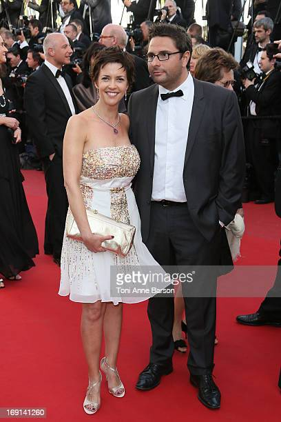 Nathalie Renoux attends the Premiere of 'Blood Ties' during the 66th Annual Cannes Film Festival at the Palais des Festivals on May 20 2013 in Cannes...