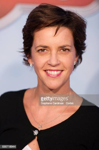 Nathalie Renoux attends the premiere of 'Planes' at UGC Normandie in Paris