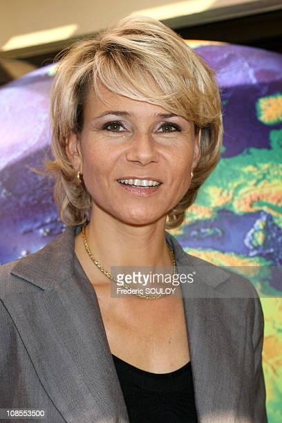 Nathalie Rihouet France 2 in Paris France on September 29 2006