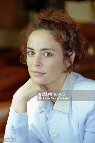 Nathalie Roussel during Cannes 1995 - Nathalie Roussel Portraits at Gray D'Albion Hotel in Cannes, France.