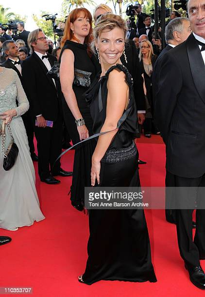 Nathalie Vincent attends the Indiana Jones and the Kingdom of the Crystal Skull premiere at the Palais des Festivals during the 61st Cannes...