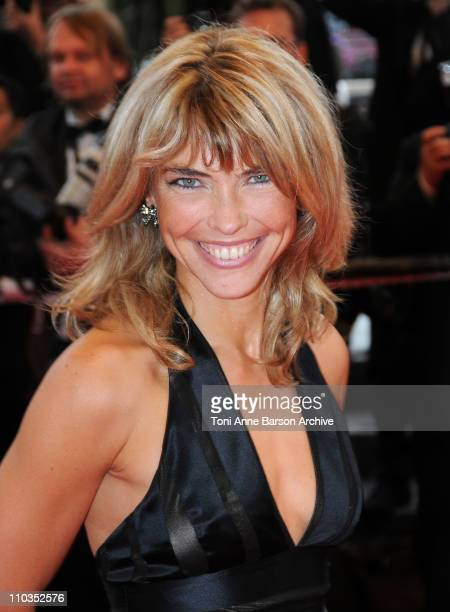 Nathalie Vincent attends the 'Un Conte de Noel' premiere at the Grand Theatre Lumiere during the 61st Cannes International Film Festival on May 16...