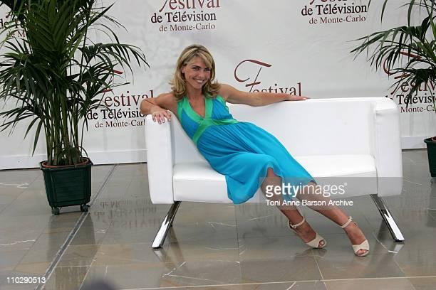 Nathalie Vincent during 2007 Monte Carlo Television Festival Nathalie Vincent Photocall at Grimaldi Forum in Monte Carlo Monaco