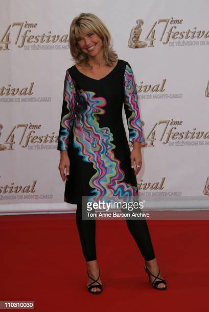 Nathalie Vincent during Monte Carlo Television Festival 2007 Opening Night Arrivals at Grimaldi Forum in Monte Carlo Monaco