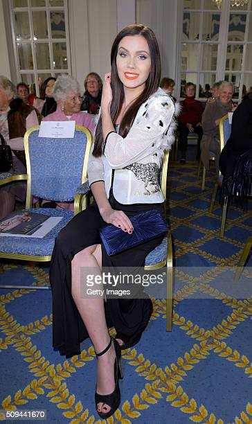 Nathalie Volk attends Liz Malraux Fashion Show at Hotel Atlantic on February 10 2016 in Hamburg Germany