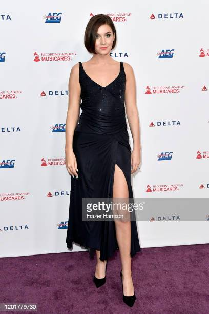 Nathalie Volk attends MusiCares Person of the Year honoring Aerosmith at West Hall at Los Angeles Convention Center on January 24 2020 in Los Angeles...