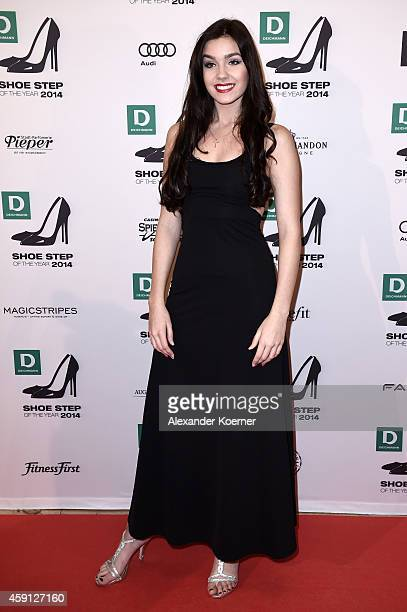 Nathalie Volk attends the Deichmann Shoe Step of the Year 2014 at Atlantic Hotel on November 17 2014 in Hamburg Germany