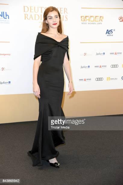 Nathalie Volk attends the Deutscher Radiopreis at Elbphilharmonie on September 7 2017 in Hamburg Germany