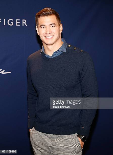 Nathan Adrian attends Tommy Hilfiger hosts a meet and greet with Olympic gold medalwinning swimmer Nathan Adrian on January 7 2017 in Las Vegas Nevada