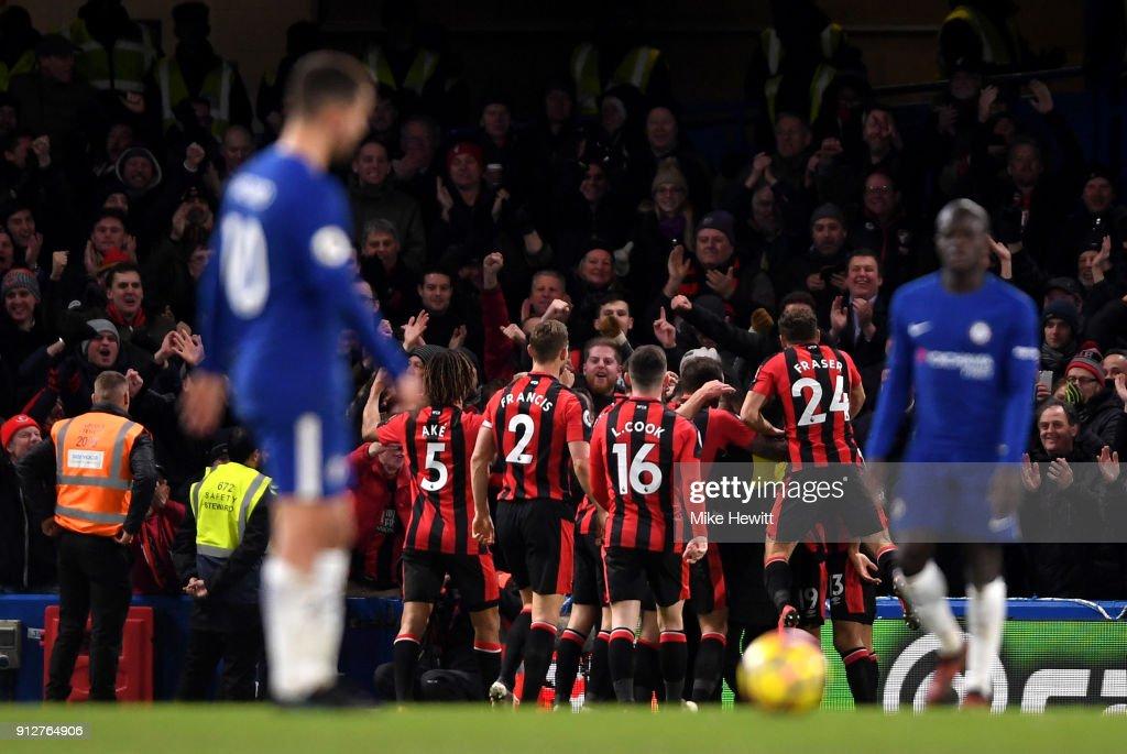 Chelsea v AFC Bournemouth - Premier League : Nachrichtenfoto