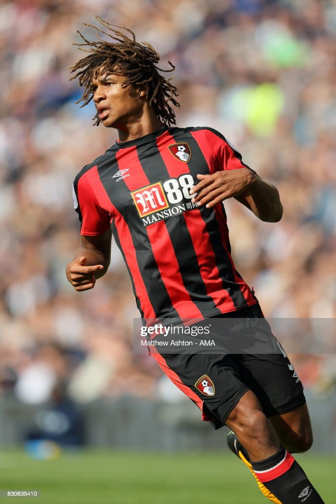Nathan Ake of AFC Bournemouth during the Premier League match between West Bromwich Albion and AFC Bournemouth at The Hawthorns on August 12, 2017 in West Bromwich, England.