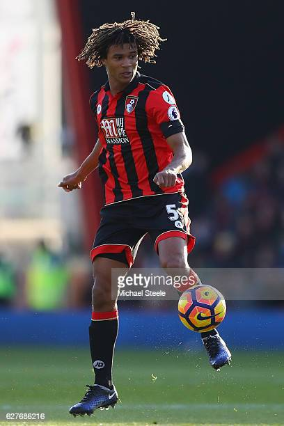 Nathan Ake of Bournemouth during the Premier League match between AFC Bournemouth and Liverpool at the Vitality Stadium on December 4 2016 in...