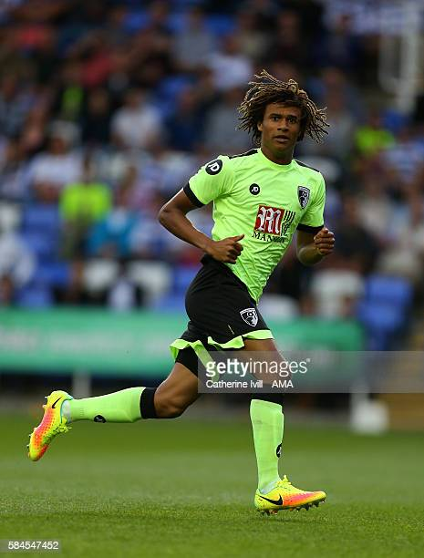 Nathan Ake of Bournemouth during the PreSeason Friendly match between Reading and AFC Bournemouth at Madejski Stadium on July 29 2016 in Reading...
