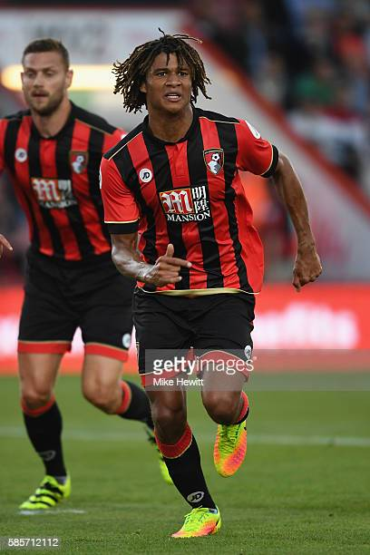 Nathan Ake of Bournemouth in action during a preseason friendly between Bournemouth and Valencia at the Vitality Stadium on August 3 2016 in...