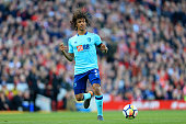 liverpool england nathan ake bournemouth action